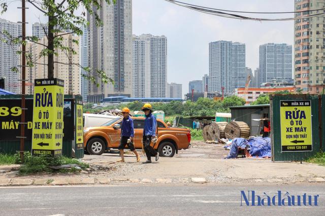 Hà Nội: Đất dự án công viên hồ điều hoà 1.600 tỷ đồng hóa sân bóng, bãi đỗ xe - Ảnh 6.
