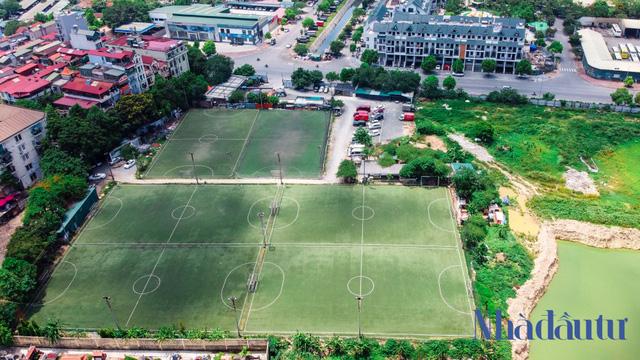 Hà Nội: Đất dự án công viên hồ điều hoà 1.600 tỷ đồng hóa sân bóng, bãi đỗ xe - Ảnh 8.